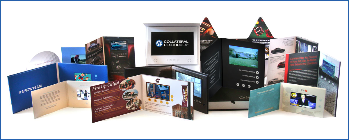 Custom Video Brochures for the ultimate marketing piece